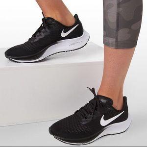 NIKE Zoom Pegasus Running Shoes Sneakers Black